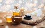 Натуральный скраб из меда и соли