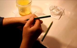 Как правильно проверить мед химическим карандашом