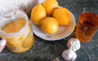 Чеснок, лимон и мед как эффективное средство от многих заболеваний