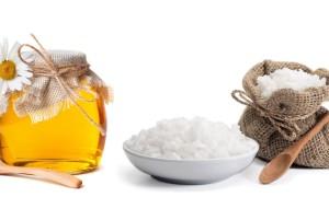 Мед с солью