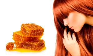 Мед для волос