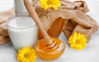 Молоко с медом при различных заболеваниях