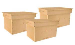 Содержание пчел и изготовление 16 рамочных ульев