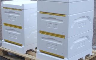 Пчеловодство в ульях из пенополистирола и из изготовление