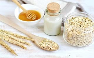 Рецепты маски из меда и овсянки для лица