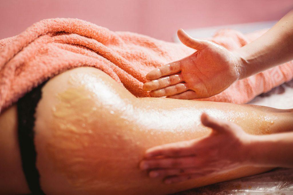 Похудение от медового массажа