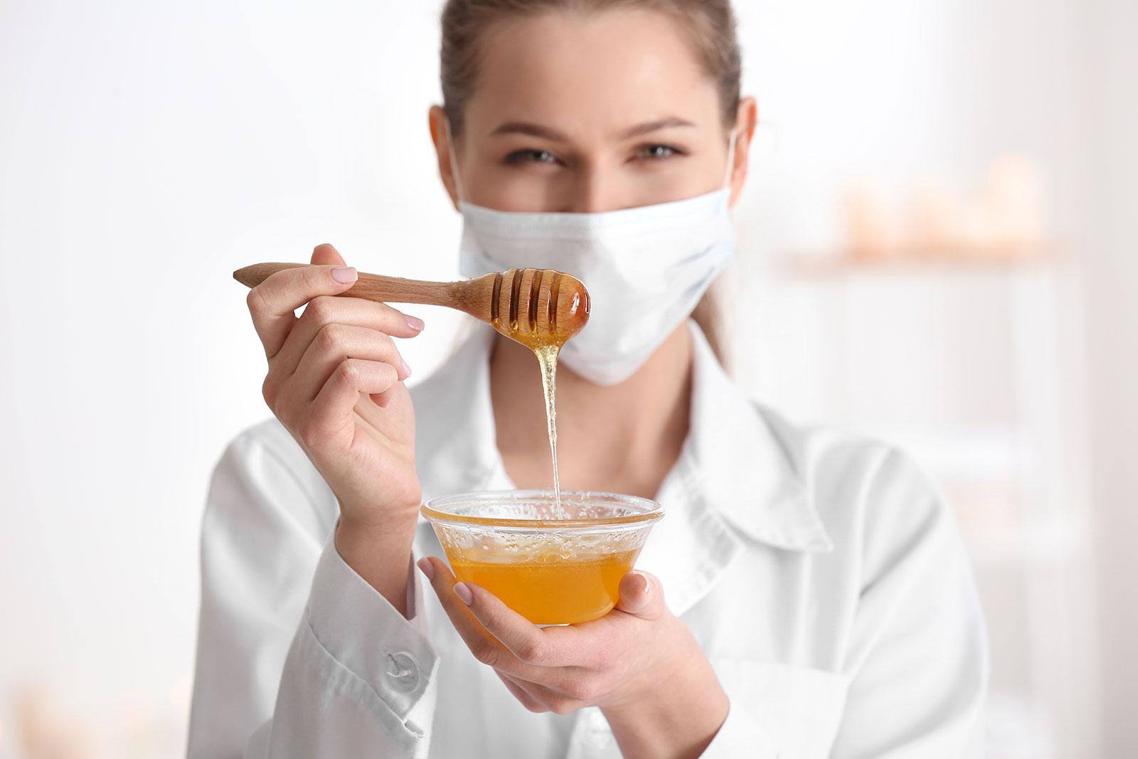 Вкус и цвет мёда из разнотравья