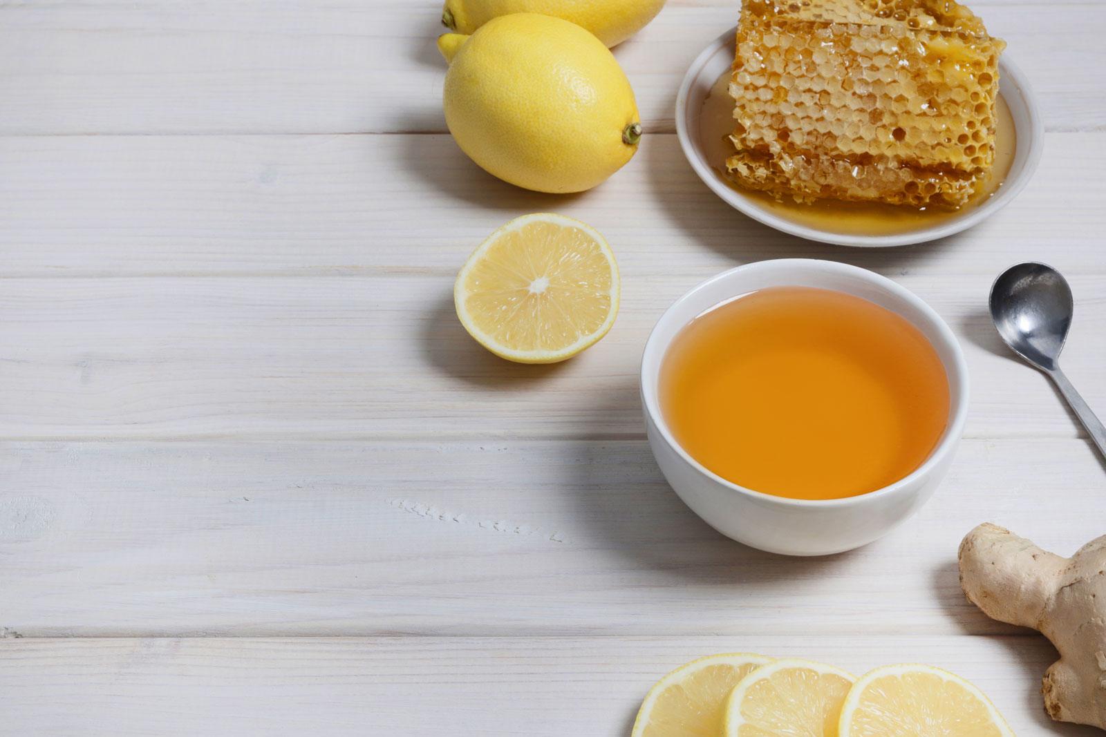 Перетертый лимон с медом