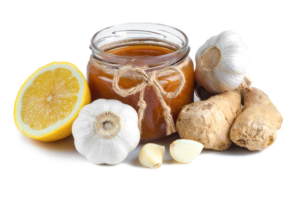 Чеснок, лимон и мед для чистки сосудов