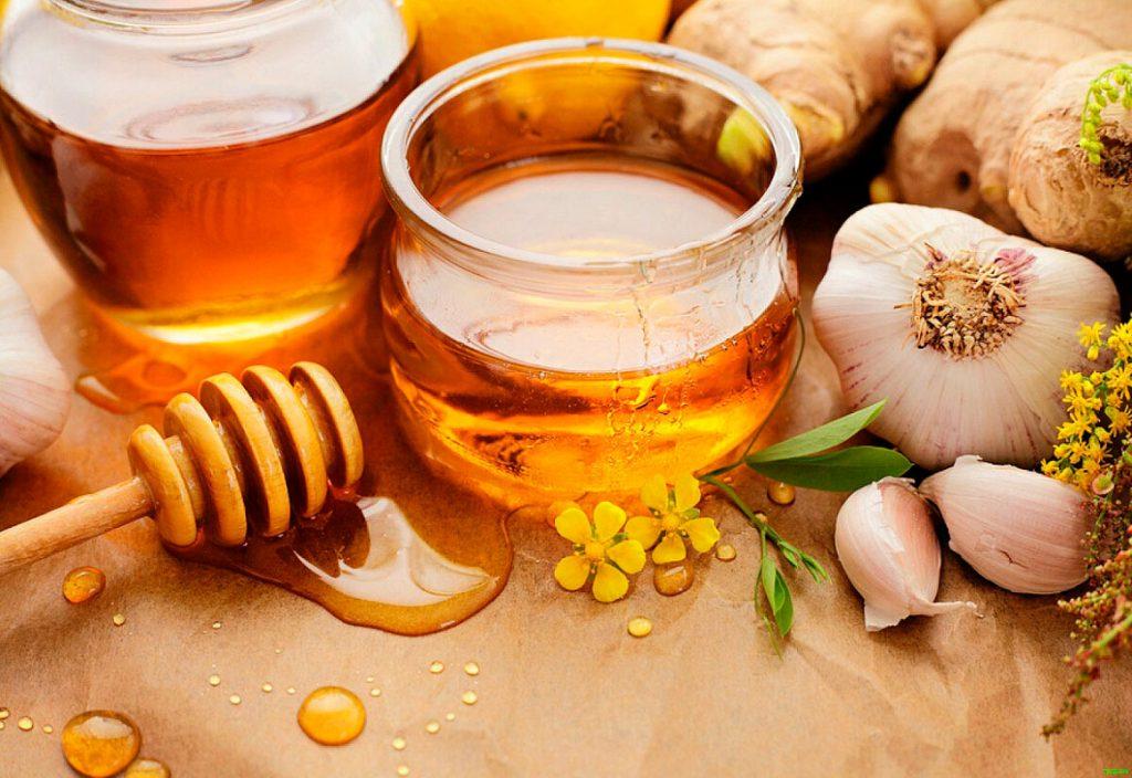 Настойка мед чеснок яблочный уксус польза